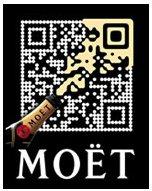 Moet Branded QR Code