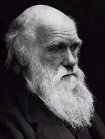 A photo of Charles Darwin