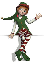 The Christmas Elf from an Elf's Tale