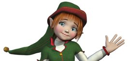 A Christmas Elf from an Elf's Tale
