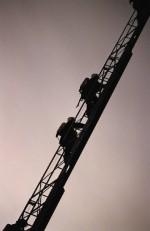 Am I a Fireman Yet? - Firemen Climbing a Ladder
