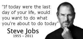 Steve Jobs Stanford Commencement Address Quote