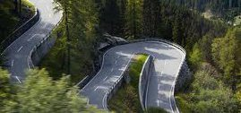 A Photo of a Twisty Road Depicting Life's Twists and Turns