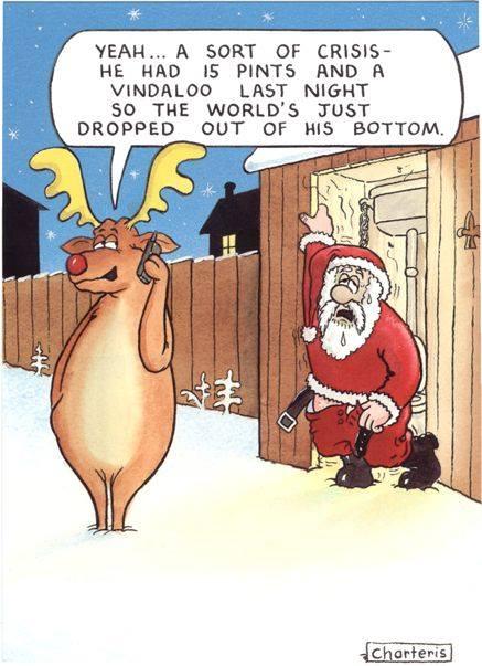 Christmas Smiles - 15 Pints and a Vindaloo