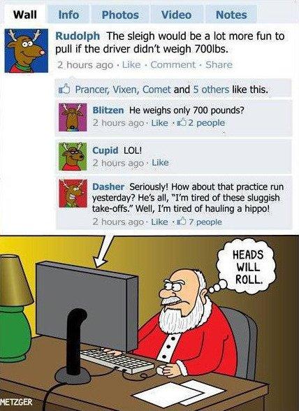 Christmas Smiles - Social Media Santa